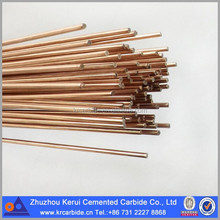 Various Brass Brazing Rods Types In Stock For Tungsten Carbide Welding