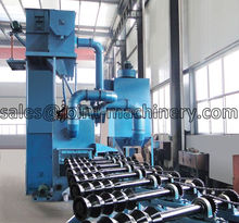 steel pipe shot blasting machine / tube Internal surface cleaning