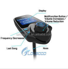 2017 Hot Unique Design +car Charging Funtion Car MP3 Player fm transmitter