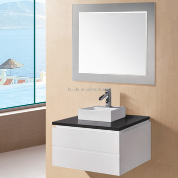 LEXI series WALL-HUNG cabinet Chinese bathroom vanity counter ceramic basin