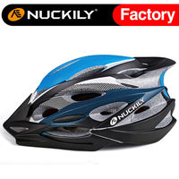 Nuckily light blue air perspiration helmet EPS cycling in-mold helmet
