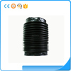 high precision custom molded black HNBR rubber bellows tube