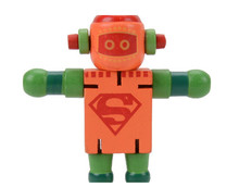 FQ brand new hot sale wooden robot toy,DIY robot with very cheap price wooden trans