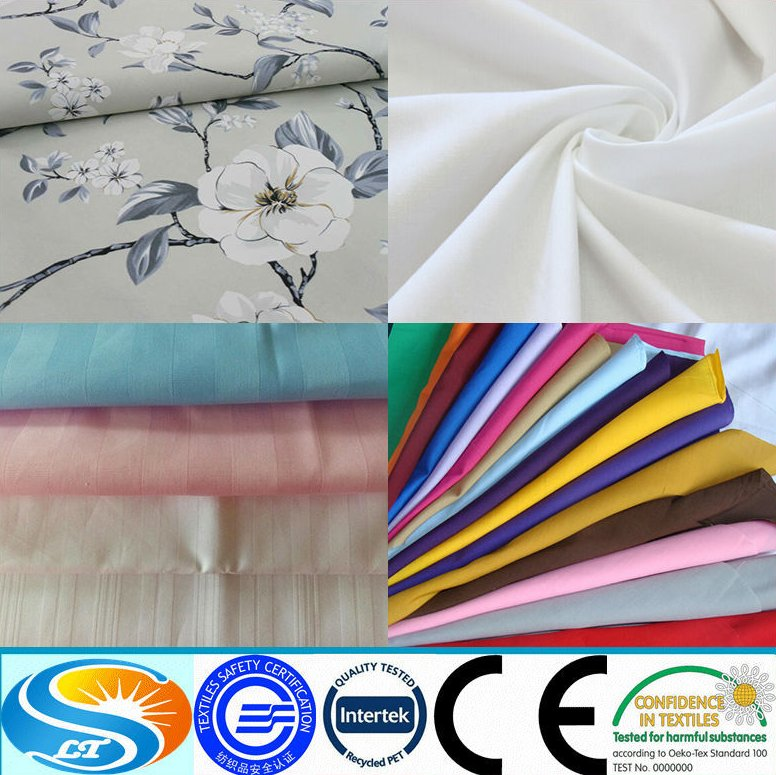 "Wholesale 110"" wide 100% cotton sateen stripe hotel bedding textile fabric for bedding , hotel textile"