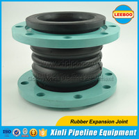 Hot Sale flanged rubber flexible joint with double spheres