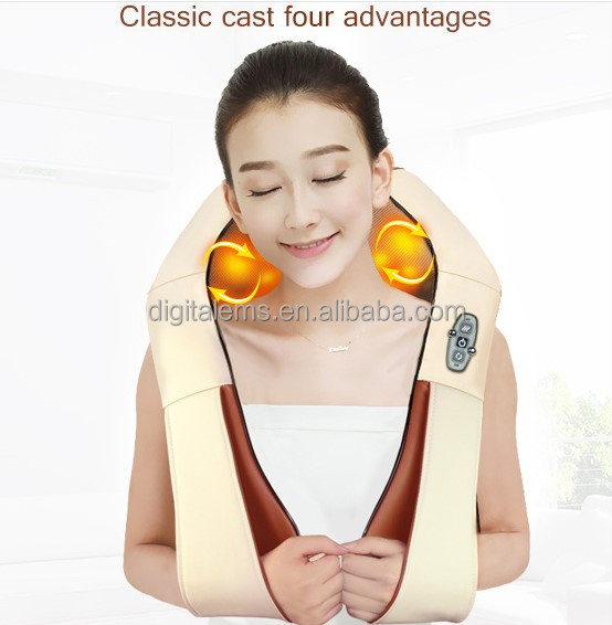 2016 Rechargeable neck massager AH-NM08 back massage cushion