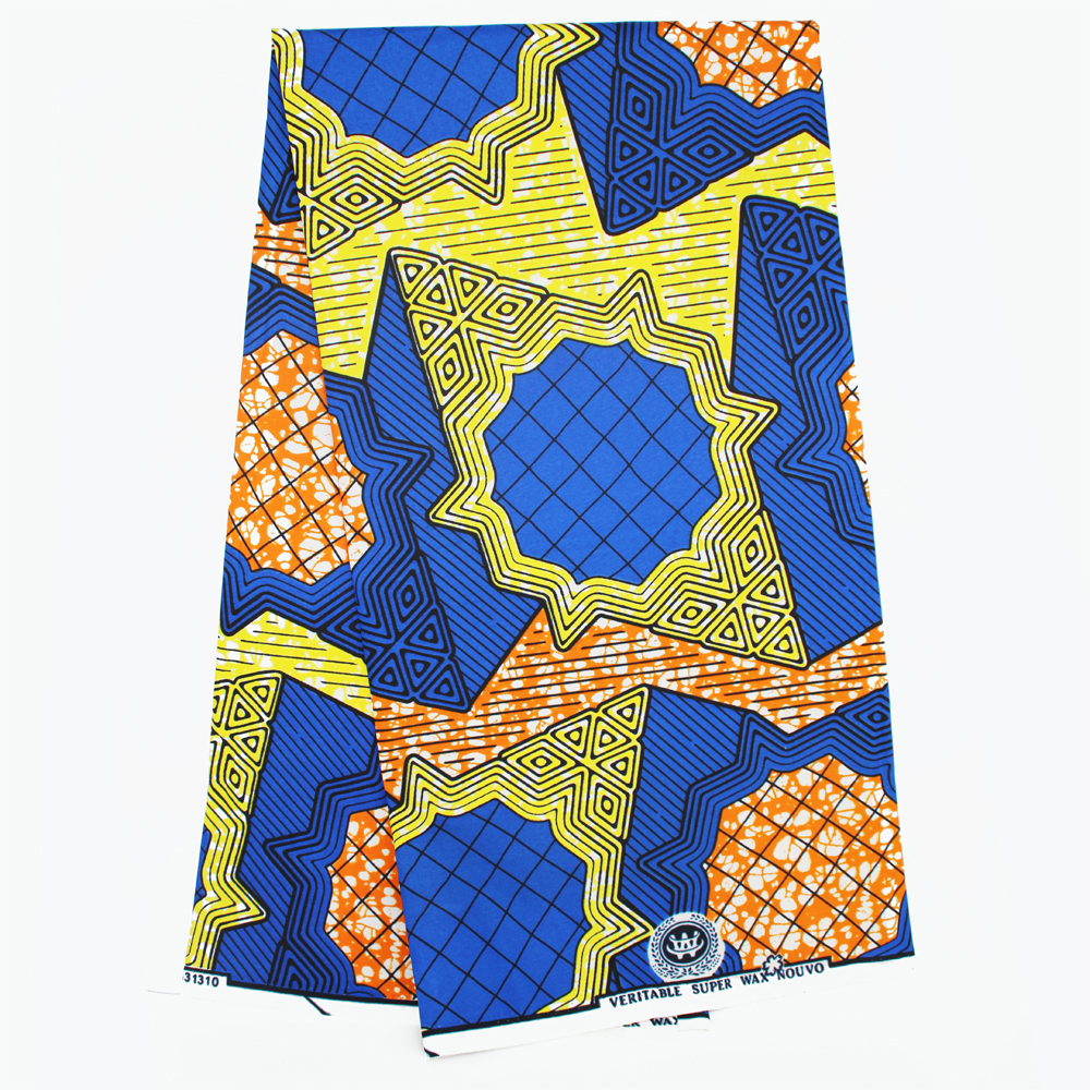 china supplier african polyester imitate wax print fabric with cheaper price and good hand feeling