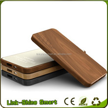 High-end gifts 2600mah 4000mah Wooden Power Bank