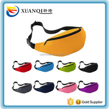 manufacture provide plain unisex sport waist pack bicycle bag