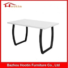 Wholesale Economic Fancy Designed MDF High Glossy Metal Iron Tube Restaurant Chairs And Tables