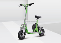 EVO/Uberscoot 2 wheel 49cc gas scooter stand up with CE certificate hot on sale