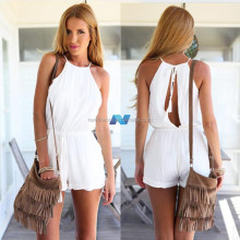 Sexy Women Casual Halter Backless Playsuit Jumpsuit Rompers Trousers Clubwear