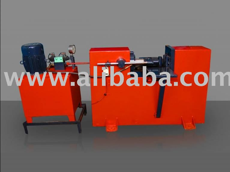 Leafspring Recambering machine