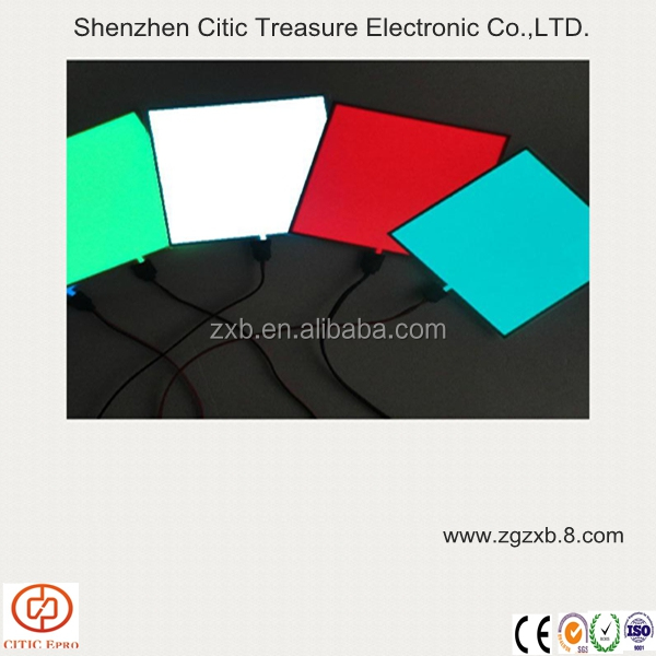Colorful animated EL backlight sheet / electroluminescent sheet