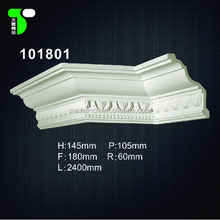 manufacturers new design mouldings ceiling decoration interior pu cornice moulding