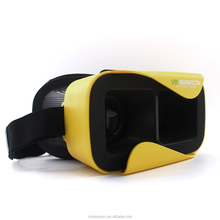2015 low price min VR headset soft plastic 3D vr glasses for watch 3D movie