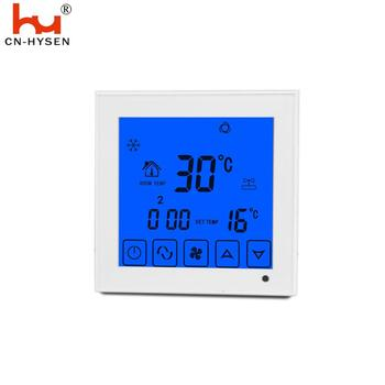 Central air conditioner thermostat with remote controller