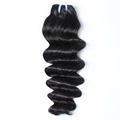 XBL Hair factory price newest hair style brazilian loose deep hair weave