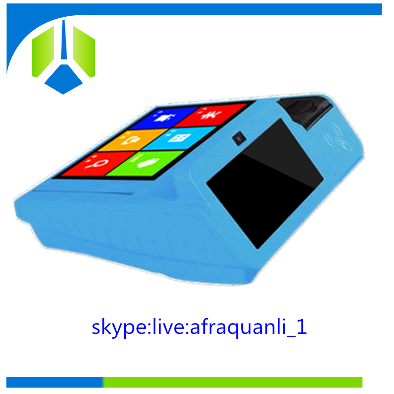 Good quality sports betting android card swipe machine android pos with QR code scanner and USB---Gc079