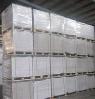 Paper mill One side Coated duplex board recycled cardboard sheets