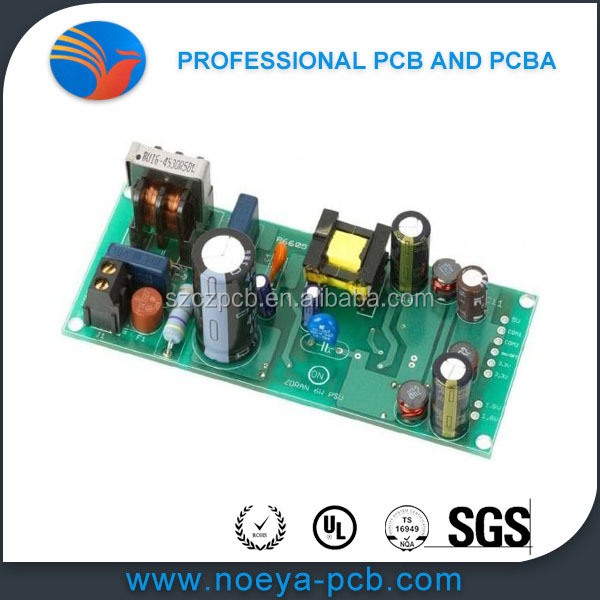 Custom CEM-1 CEM-3 PCB Multi Layer Circuit Board Assembly Services with BGA