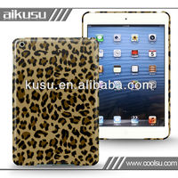 plain case for mini ipad with animal leather series