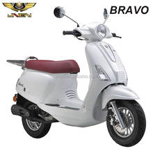 BRAVO 50CC JNEN Motor Patent Design 2017 Classic Model Gas Mopeds Scooter Factory Price Wholesale With EEC DOT Euro 4