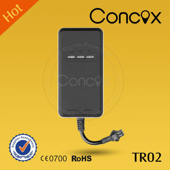 Concox Classic GPS Tracker TR02 with high sensitive GPS Chipset and Mini Size for Easy to Install and Setup.