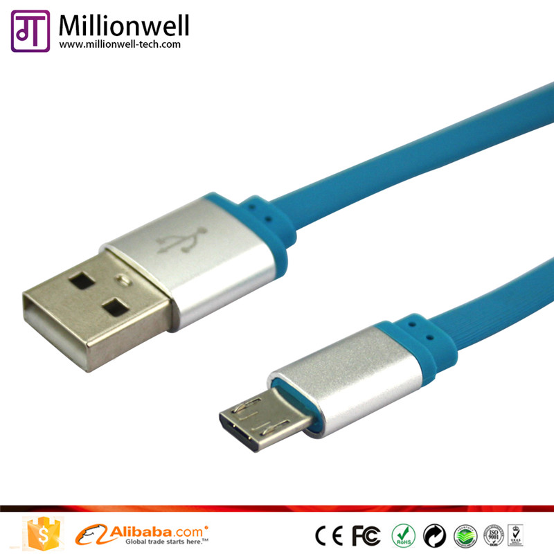 Millionwell 24awg 2c usb cable car charger cable