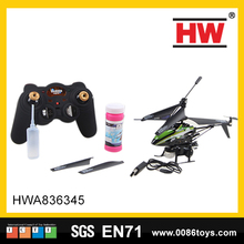 3.5 Channel r/c bubble helicopter drone with colorful light