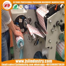 China Cheap Labels Slitting And Rewinding Machine Export To India