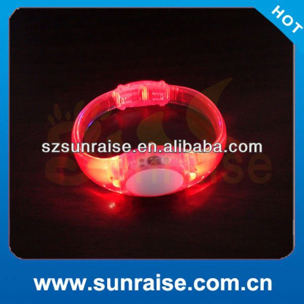 custom music activated led bracelet/wrist band for 2014 World Cup Brazil