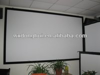 manufacturing 3d fixed frame indoor projector screen