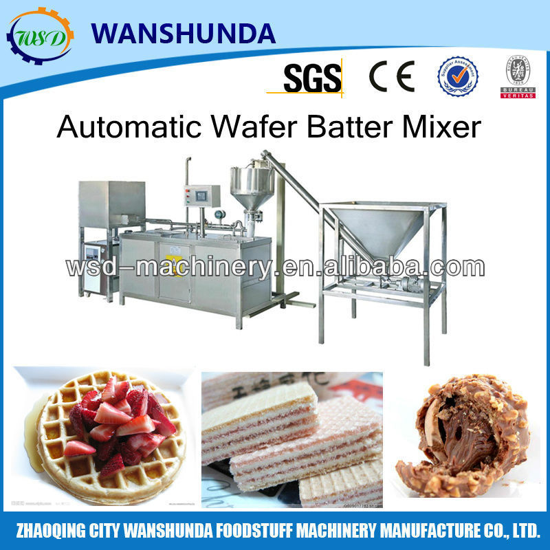 Multifunctional Automatic Batter Mixing
