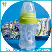 IBECARE safe washable glass baby feeding nursing bottles for wholesale