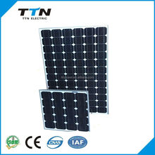2017 Hot sale cheap 100W monocrystalline solar panel/panel solar/PV modules price per watt from China factory directly