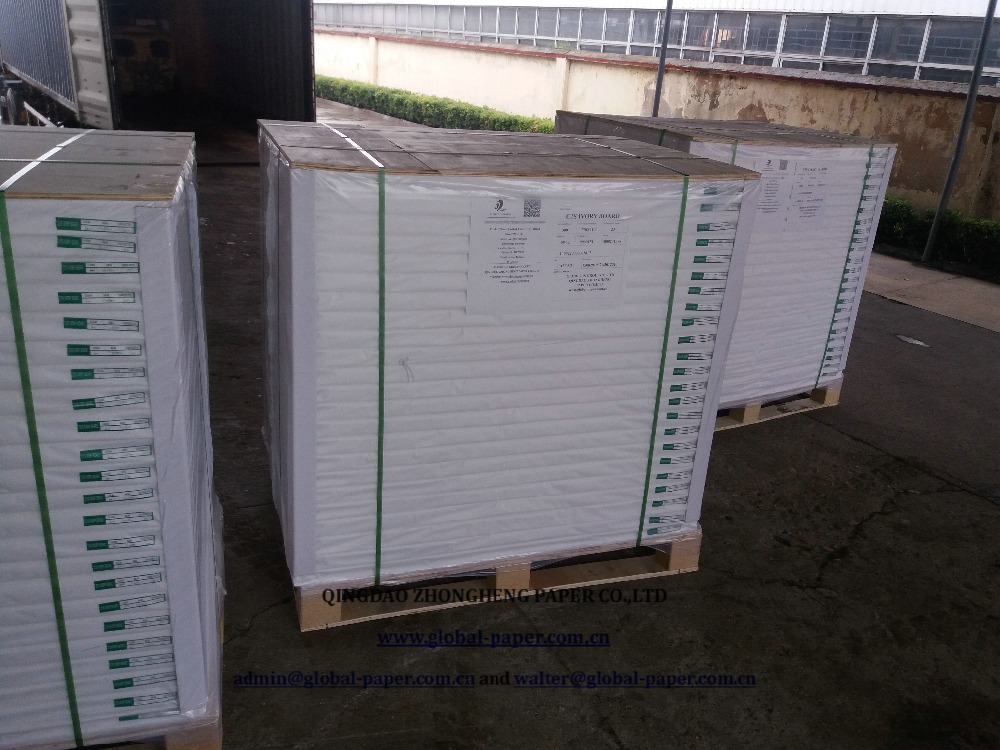Size:100 x 70 cm Folding Box Board 300 GSM / 350 GSM/ ivory paper board
