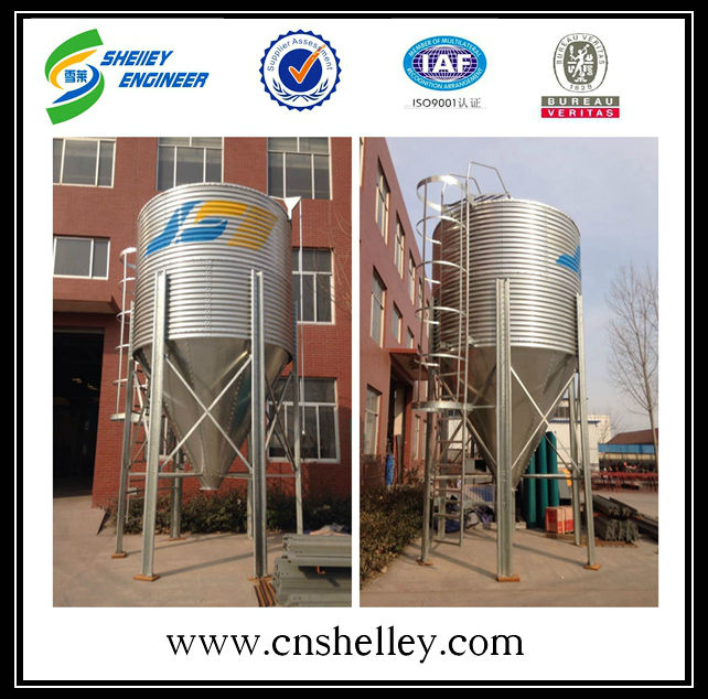 bulk feed bins for sale chicken feed storage silo tank used