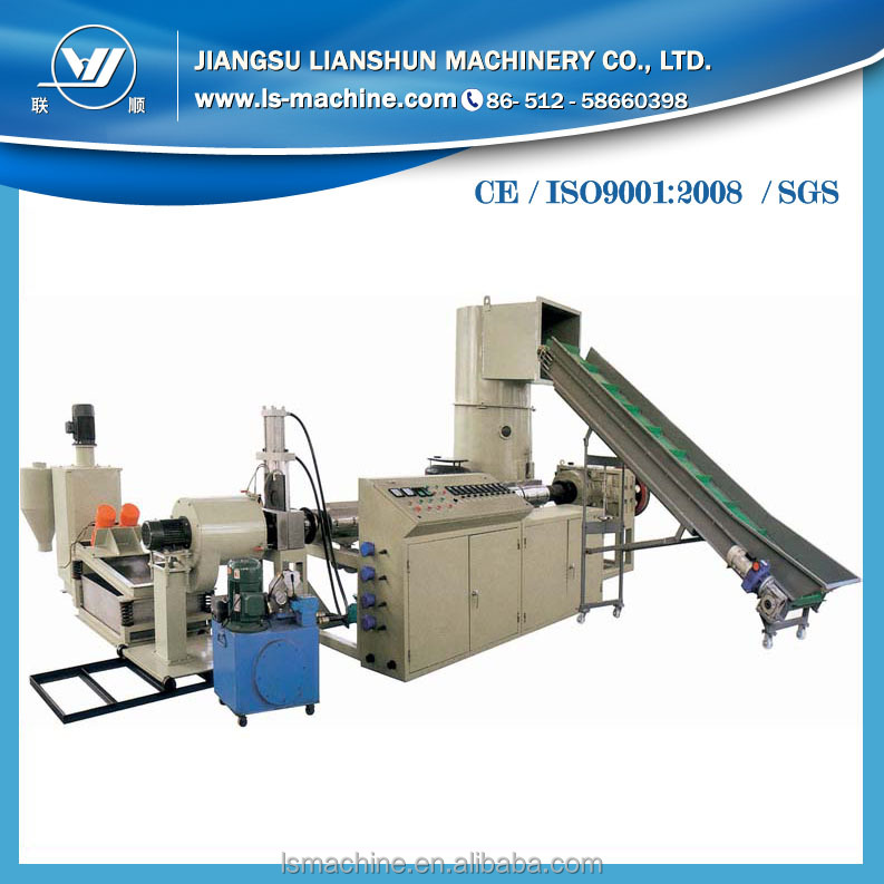 PE/PP/PET Flakes/sheets/film Washing complete plant