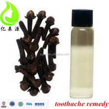 Plant extract natural 85% Clove essential Oil for toothache remedy