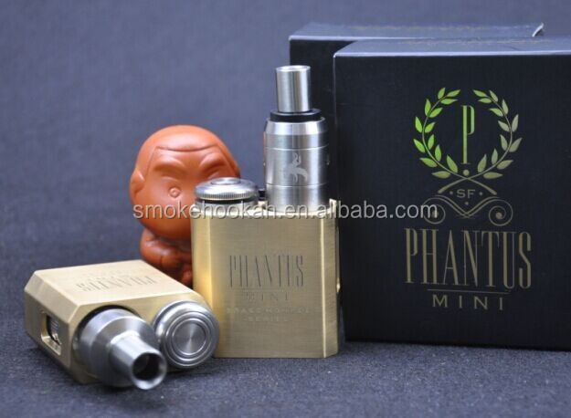 Newest and Hottest!! China mini phantus 18650 phantus mini mod with 510 thread