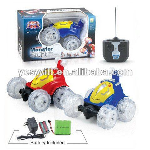 4ch remote control stunt car with light and music