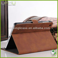 New product stand wallet leather case for ipad mini, tablet pc case for ipad mini