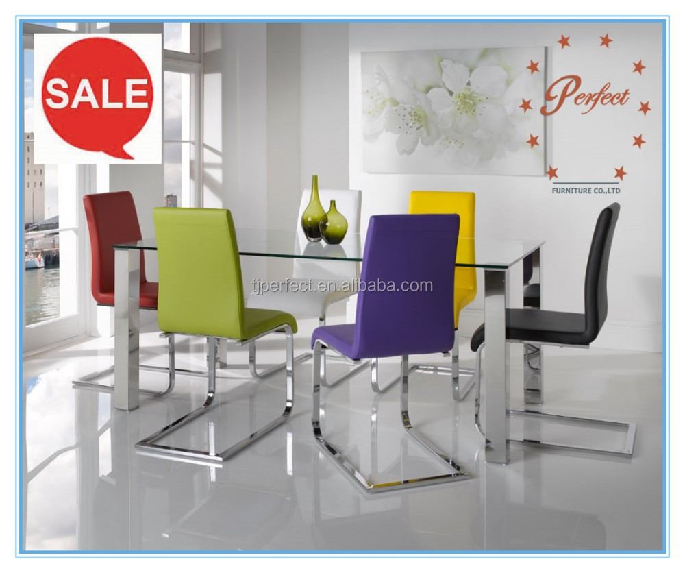 Wholesale dining tables stainless steel Online Buy Best  : modern design Tempered glass Stainless steel four from wholesaler.alibaba.com size 1000 x 836 jpeg 118kB