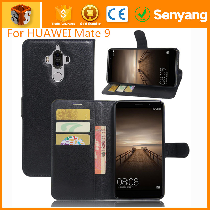 For Mate 9 Flip Case,PU Leather Wallet Case for HUAWEI Mate 9