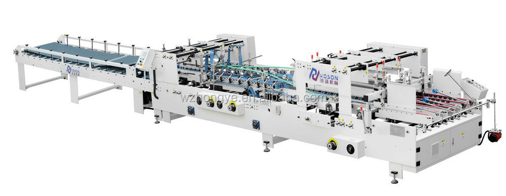 ZH-1300FT Corrugated box Carton Folder Gluer Machine