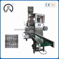 Multi lanes coffee stick packing machine