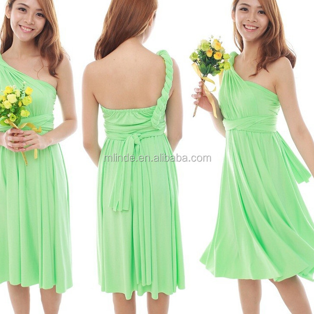 summer custom made OEM bridesmaid dress wholesaler