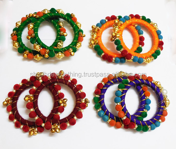 Designer bangle and ghungroo kada from india