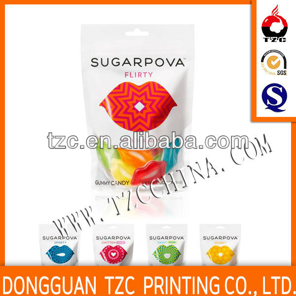 Plastic food grade corn hole bag material